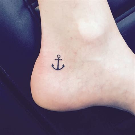 small tattoo anchor 50 anchor ankle tattoos