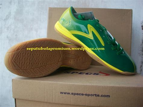 Sepatu Bola Specs Accelerator Bafana specs accelerator bafana in green lemonpeel sepatu