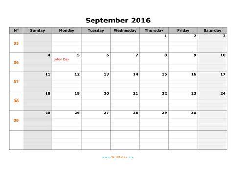 Calendar September 2017 Word September 2017 Calendar Word Blank Calendar Printable