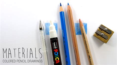 Drawing Supplies by Drawing Materials Supplies I Use For My Colored Pencil
