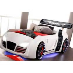 audi v8 race car bed with working led lights and racing