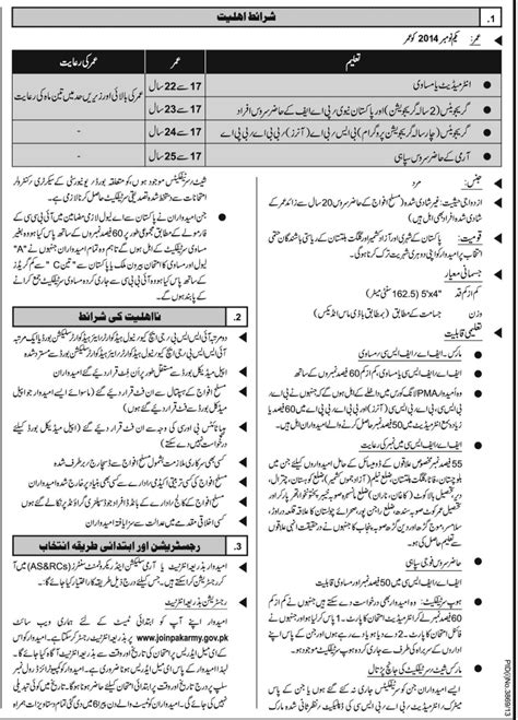 test pattern of pma long course join pakistan army as commission officer 2014 pma long