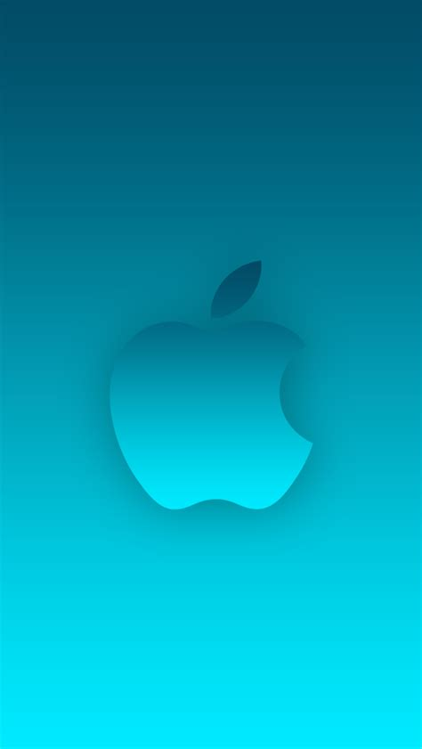 wallpaper iphone 6 ios 7 ios 7 wallpaper without bubbles cyan by prsnsingh on