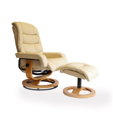 leather swivel recliner chairs venice chair footstool mtm swindon