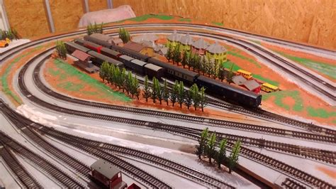 ho layout video trees and bridge added to ho layout model train help