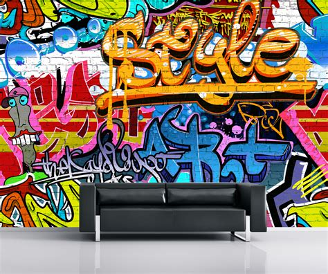 graffiti wall murals wallpaper graffiti wallpaper mural wall murals ireland