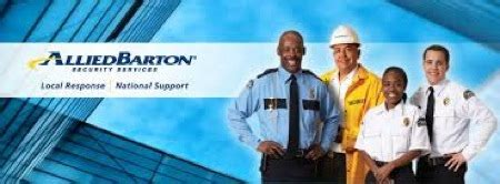 free allied barton security guard application online