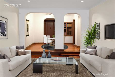 Sunken Dining Room by Corcoran 357 West 55th Apt 1m Midtown West Real