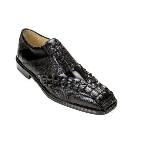 belvedere shoes belvedere roma hornback lizard calf shoes black