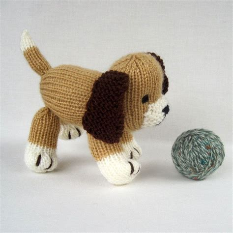 knitting pattern toys muffin the puppy toy dog pdf knitting pattern email