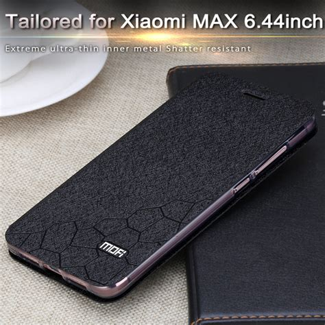 Xiaomi Mi Max Retro Flip Leather Cover Dompet Armor Bagus aliexpress buy mofi for xiaomi mi max cover flip leather matte luxury fundas for mi