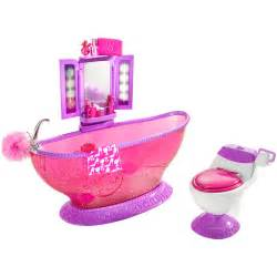 doll furniture bath to bathroom play set