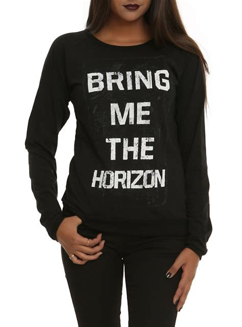 Hoodie Sweater Switer Bmth Logo bring me the horizon logo pullover top topic