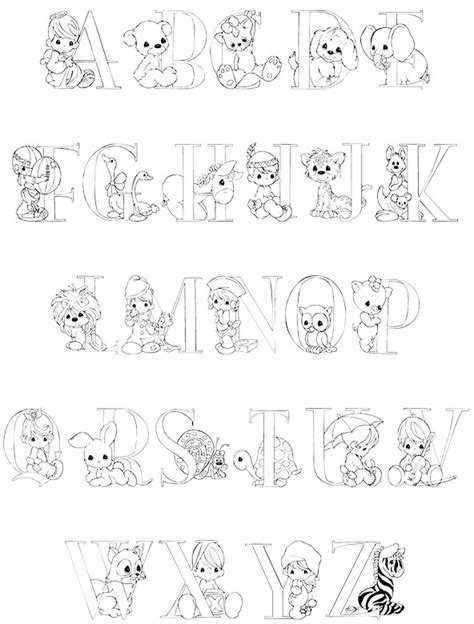 alphabet coloring pages precious moments coloring pages precious moments alphabet when coloring