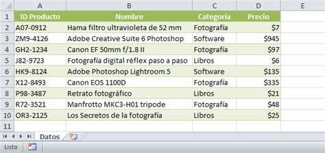 tutorial excel 2010 base de datos copiar datos de una hoja a otra en excel sin macros