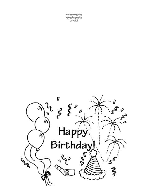 printable birthday cards black and white free coloring pages printable birthday coloring cards