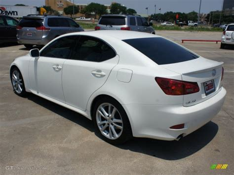 white lexus is 250 2006 white lexus is 250 49950285 photo 3