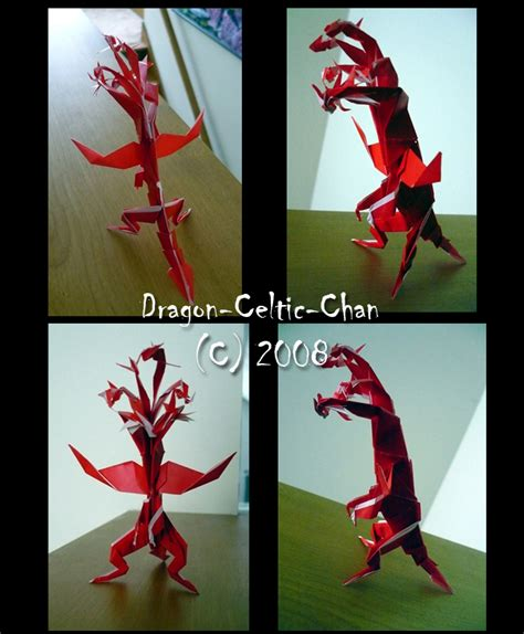 Origami Hydra - origami hydra by celtic chan on deviantart