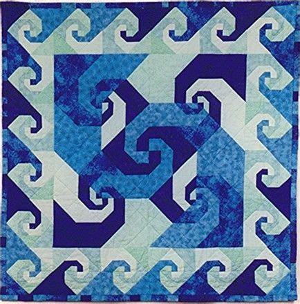 quilt pattern snail s trail snail trail quilt pattern ocean colors ink paint