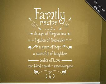 quotes about family recipes quotesgram