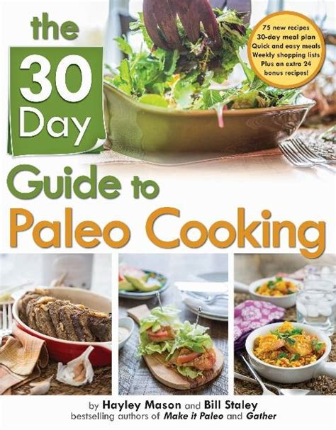 paleo cooker cookbook 30 day paleo cooker challenge discover the secret to losing weight fast with 90 recipes 30 each for breakfast lunch and dinner books book review quot the 30 day guide to paleo cooking quot by