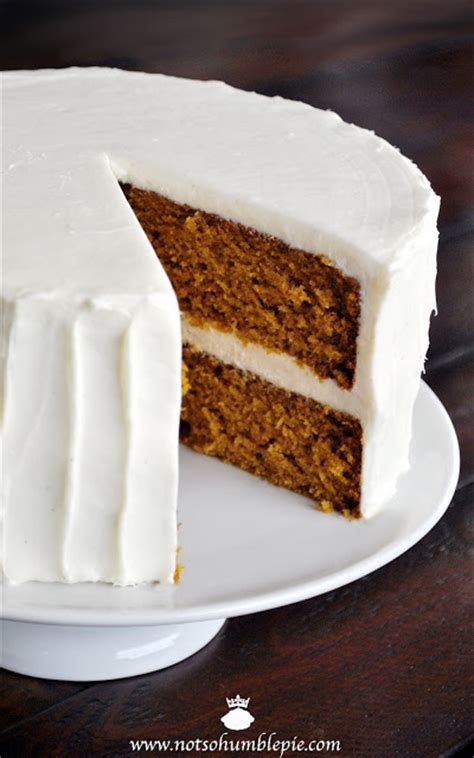 Get Out Of Spice Cake Just For by Not So Humble Pie Pumpkin Spice Cake With