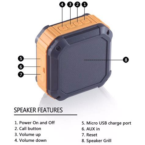 aukey mini outdoor waterproof stereo bluetooth speaker sk m16 green jakartanotebook