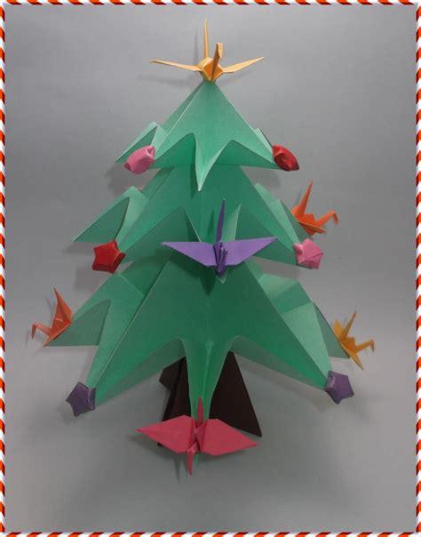 Origami Natal - 193 rvore de natal de origami omura elo7