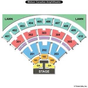 molson hitheatre floor plan budweiser stage toronto seating charts