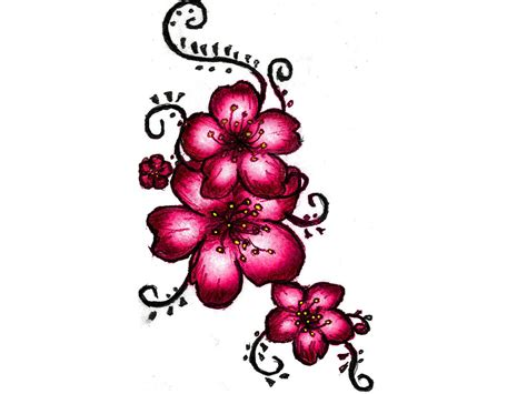cherry blossom tattoo designs cherry blossom design ideas pictures