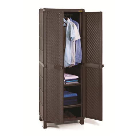armario ropa armario pl 225 stico grande para ropa rattan closet portatil