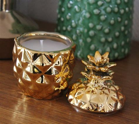 H M Home Decor by H Amp M Bougie Ananas Hm Pickture