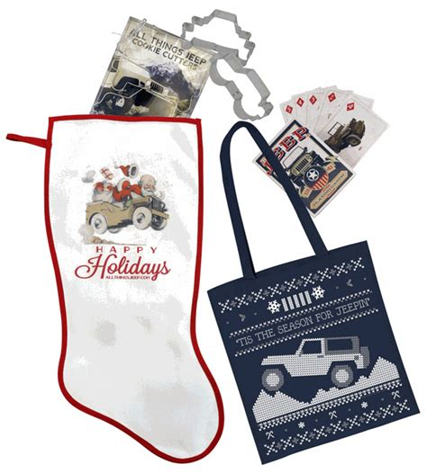 jeep christmas stocking all things jeep stocking stuffer gift set