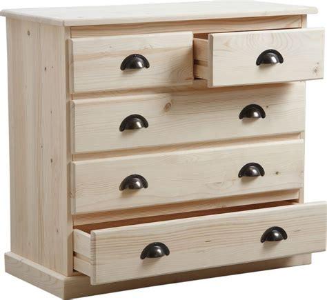 commode 3 tiroir commode 3 tiroirs en bois brut
