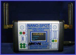 dmr dstar fusion p nano spot wifi digital ham hotspot qrz  amateur radio news