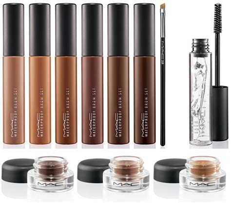 Mac Pro Longwear Waterproof Brow Set Brown Cp 280 the press warpaintmag