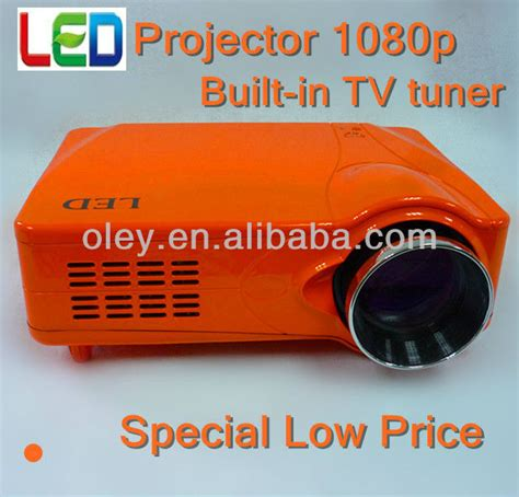 Proyektor Plus Tv Tuner low price projector 1080p built in tv tuner ce view