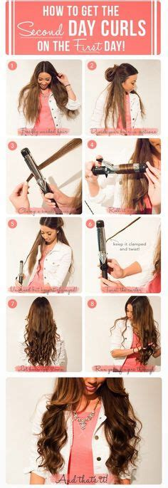 Hair Style Tools To Make Different Waves by 1000 Ideas About Curling Iron Tips On Curl