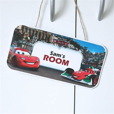 bedroom door signs lightning mcqueen bedroom door sign disney inspired