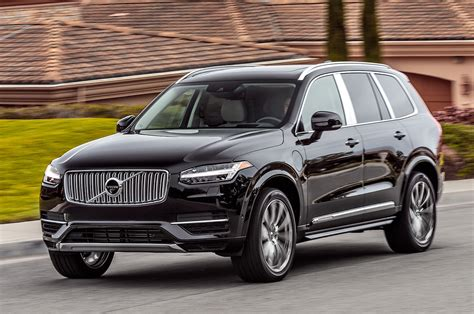 volvo xc  excellence  rear seat review motor trend
