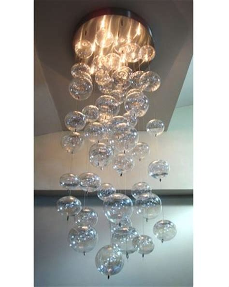 bubbles chandelier blown glass pendant chandelier artisan crafted