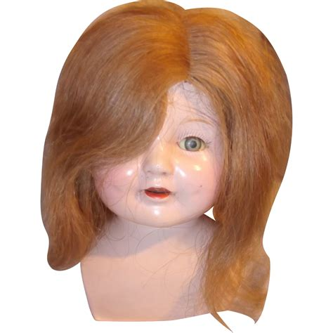 Human Hair Doll For by Human Hair Wig For Composition Or Bisque Doll From