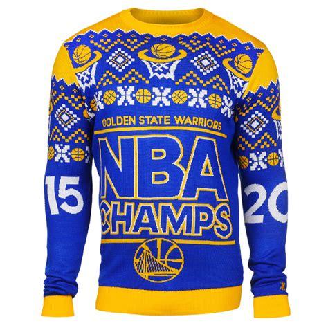 Sweater New Basket Nba Warrriors Biru golden state warriors klew nba chions sweater crew