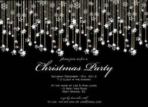 black and white christmas party invitations invitation