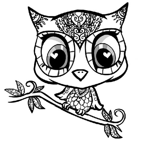 Free Coloring Pages Of Owl Eyes Owl Coloring Pages