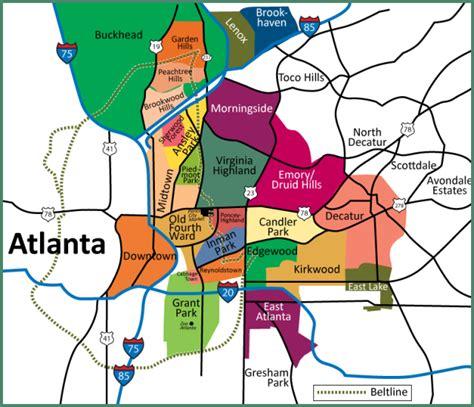 map of atlanta usa best 25 atlanta usa map ideas on washington