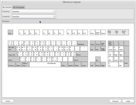 change keyboard layout javascript xorg how can i change my keyboard layout to a modified