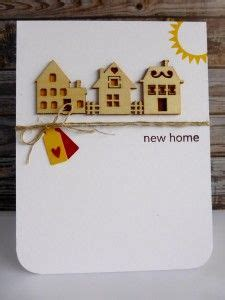 Handmade New Home Card Ideas - 1000 images about new home welcome on new