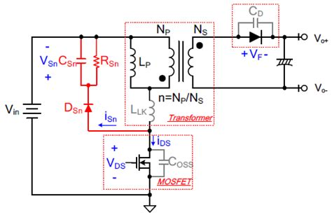 snubber circuit across diode how to eliminate stress of mosfet during start up of flyback converter richtek technology