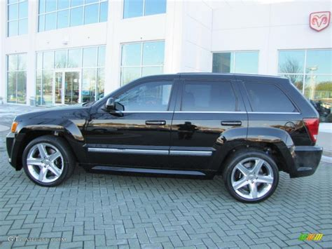 Srt8 Jeep 2008 Black 2008 Jeep Grand Srt8 4x4 Exterior Photo